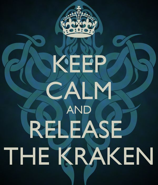 Quote Wallpapers For Iphone 6 Plus Keep Calm And Release The Kraken Funnies Pinterest