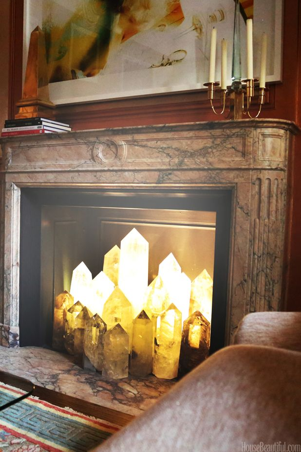 What To Put In Your Fireplace Besides Logs  Selenite