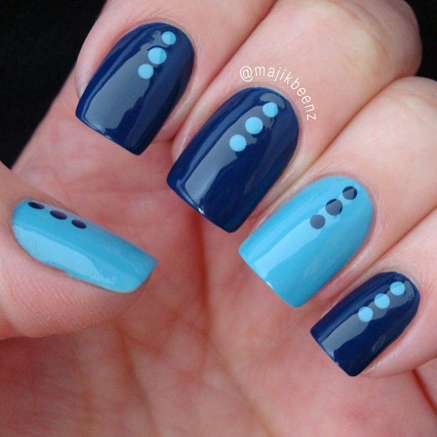 17 Best ideas about Easy Nail Designs on Pinterest