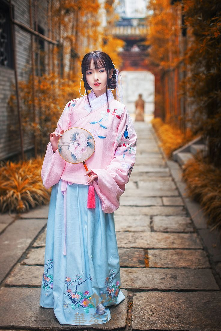 Traditional Chinese Hanfu Type Qiyao Ruqunwaist High