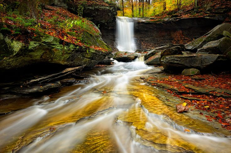 Fall Feather Wallpaper Blue Hen Falls Cuyahoga Valley National Park Ohio