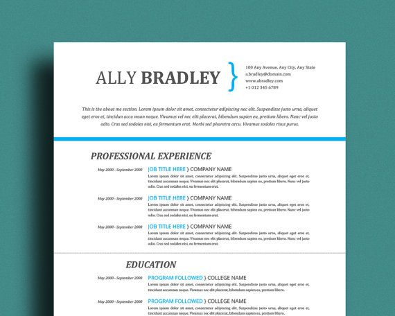 edit mac pages resume template
