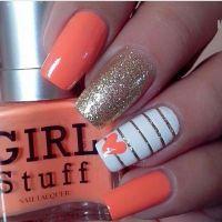 17 Best ideas about Peach Nail Art on Pinterest | Beach ...