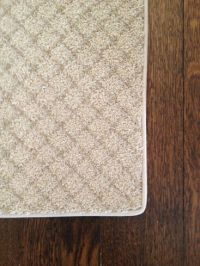 How to Turn a Carpet Remnant into a Rug | Carpets, Runners ...