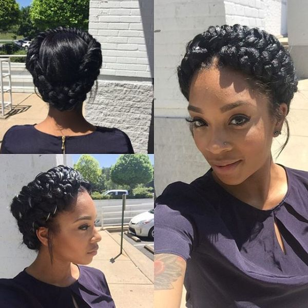 30 Halo Hairstyles Natural Hair Hairstyles Ideas Walk The Falls