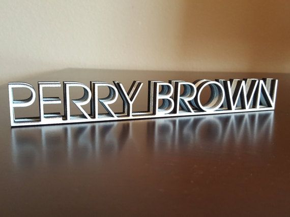 25 best ideas about Desk Name Plates on Pinterest