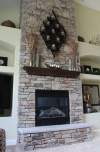 17 Best ideas about Tall Fireplace on Pinterest | Living ...