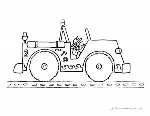1000+ images about Fire Truck Coloring Pages on Pinterest