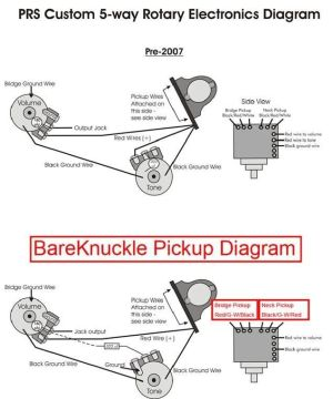 BareKnuckle  PRS 5 Way Wiring  PLEASE HELP!!! | Harmony