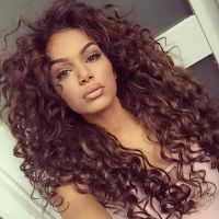 25+ best ideas about Brown curly hair on Pinterest | Ombre ...