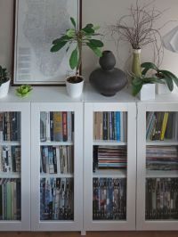 BILLY bookcases with GRYTNS glass doors   IKEA Hackers ...