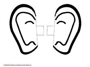 Ear headbands, Ears and Sunday school on Pinterest