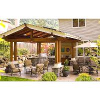 Awesome backyard patio | Evergreen Turf - Arizona Sod ...