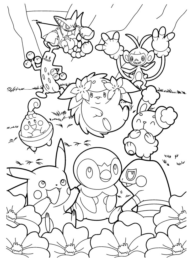 25+ best ideas about Pokemon coloring pages on Pinterest