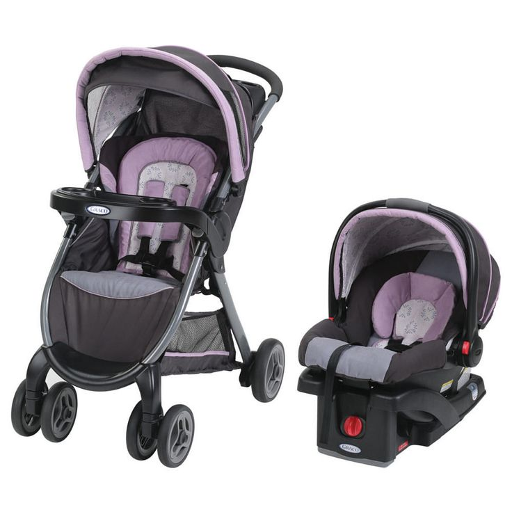 Graco FastAction Fold Click Connect Travel System  Janey