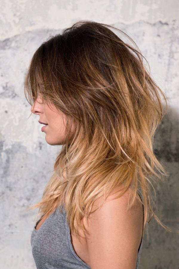 Die Besten 25 Schnitt Lange Haare Ideen Auf Pinterest