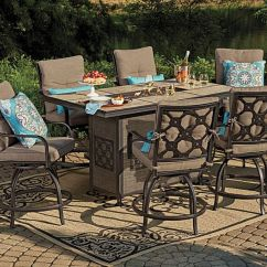 Outdoor High Top Table And Chairs Set Minnie Mouse Folding Chair I Found A Wilson & Fisher Stoneridge Patio Dining Collection At Big Lots For Less. Find ...