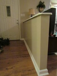 20 best images about Entryway Half Walls on Pinterest ...