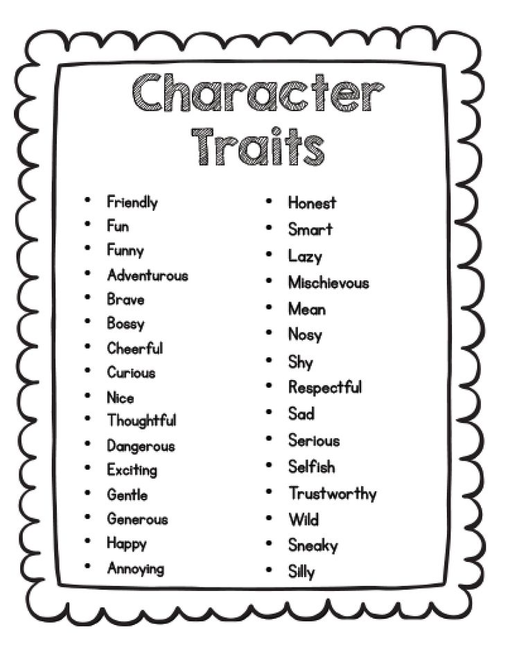 1000+ ideas about Character Traits Activities on Pinterest
