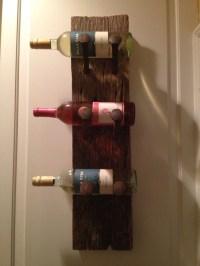 Homemade wine rack | Wine racks | Pinterest