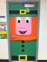 Leprechaun for a classroom door | Classroom March Ideas ...