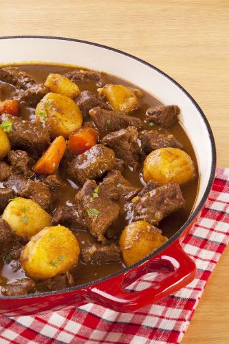 Crockpot Beef Stew (Paleo) | Paleohacks - substitute sweet potato, butternut squash, and/or parsnips for potato: