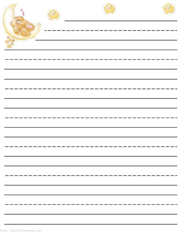 Lined Writing Paper To Print Free writing papers bold