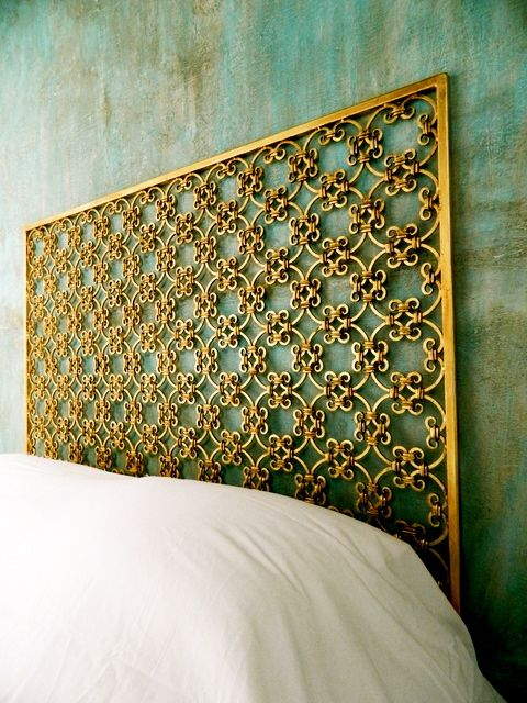 urban outfitters living room ideas feature wall for gold and girly headboard | headboards beds pinterest ...