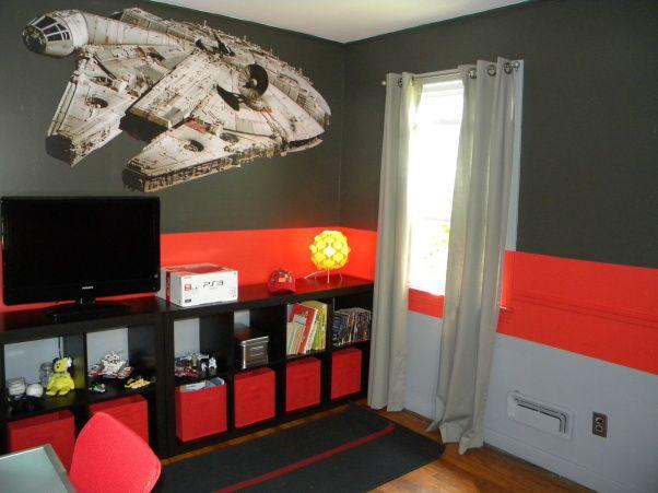 17 Best images about Star Wars bedroom on Pinterest