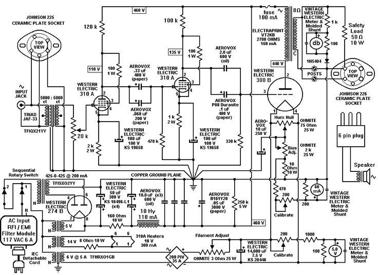 17 Best images about Audio amplifier schematics on
