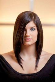 long asymmetrical bob hair styles