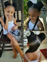 adorable braided style girls