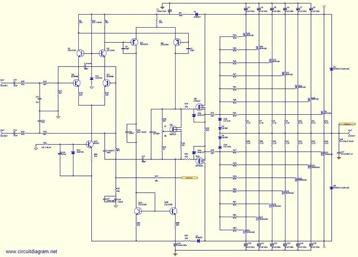 audio amplifier circuit diagram with layout toggle switch wiring 800w high power mosfet schematic - | amplifiers pinterest ...