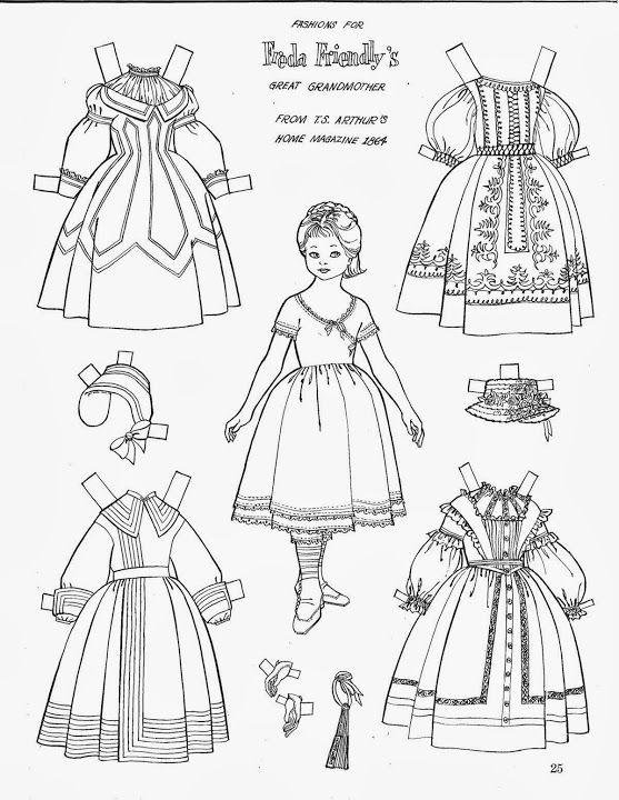 721 best images about Arielle Gabriel: Paper Dolls Black