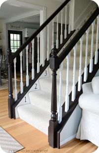 25+ best ideas about Banister remodel on Pinterest ...