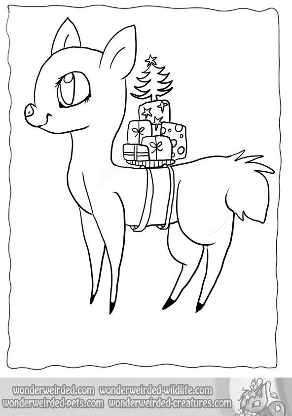 Best 25+ Cartoon reindeer ideas on Pinterest