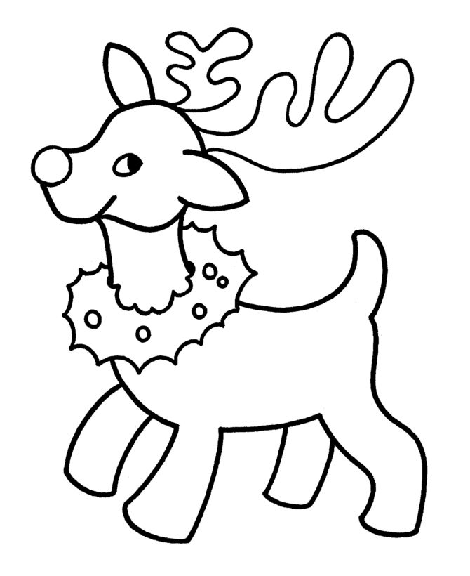17 Best ideas about Christmas Coloring Pages on Pinterest
