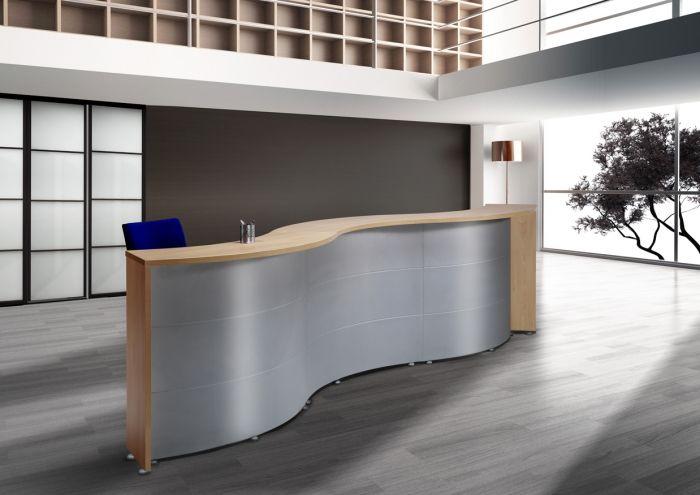 Mostrador curvo  Muebles para Despachos  Material de