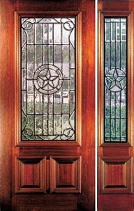 Texas Star Front Door With Half Side Light Panel Our