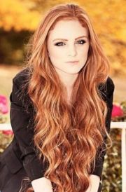gorgeous loose #wavy #red #hair