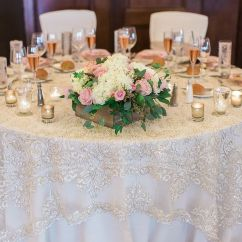 Light Pink Spandex Chair Covers Mid Century Modern Chairs 17 Best Ideas About Lace Tablecloth Wedding On Pinterest | Victorian Party, ...