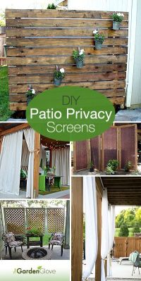 1000+ ideas about Patio Privacy Screen on Pinterest ...