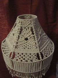 1000+ images about Macrame lamps on Pinterest | Lamp ...