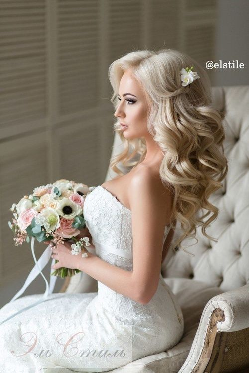 25+ best ideas about Wedding hair down on Pinterest