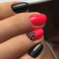 25+ best ideas about Red black nails on Pinterest | Red ...