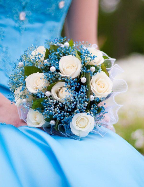 Die besten 25 Blaue Hochzeitsblumen Ideen auf Pinterest