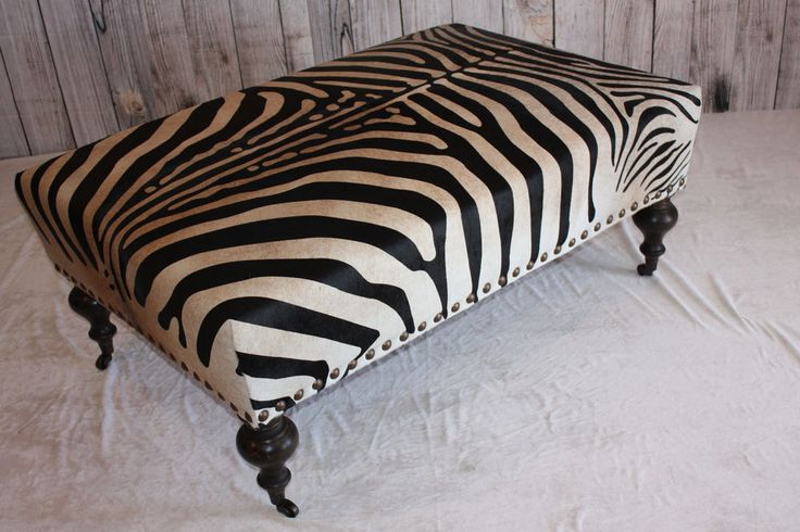 zebra print chairs for sale step2 table and with umbrella best 25+ cowhide ottoman ideas on pinterest | southwestern recliner chairs, cabin chic ...