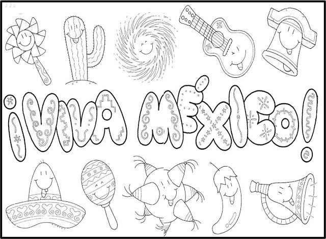 Mexican Papel Picado Coloring Pages Coloring Pages