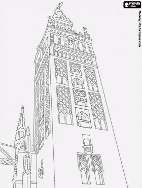La Giralda, a former minaret of the Almohad mosque of