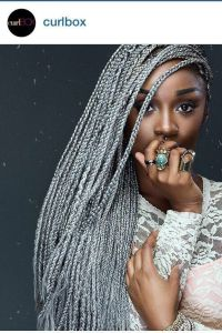 Has anyone tried grey/silver braids? | Lipstick Alley